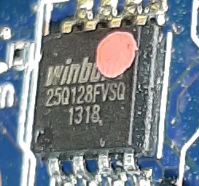 Winbond 25Q128FVSQ-1318